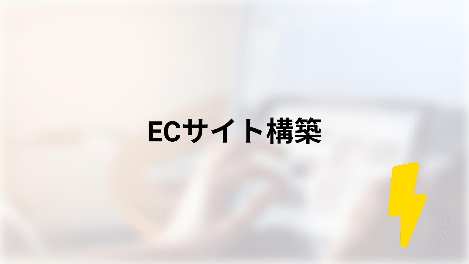ECサイト構築